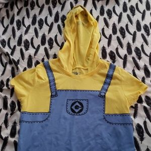Minion hood t-shirt